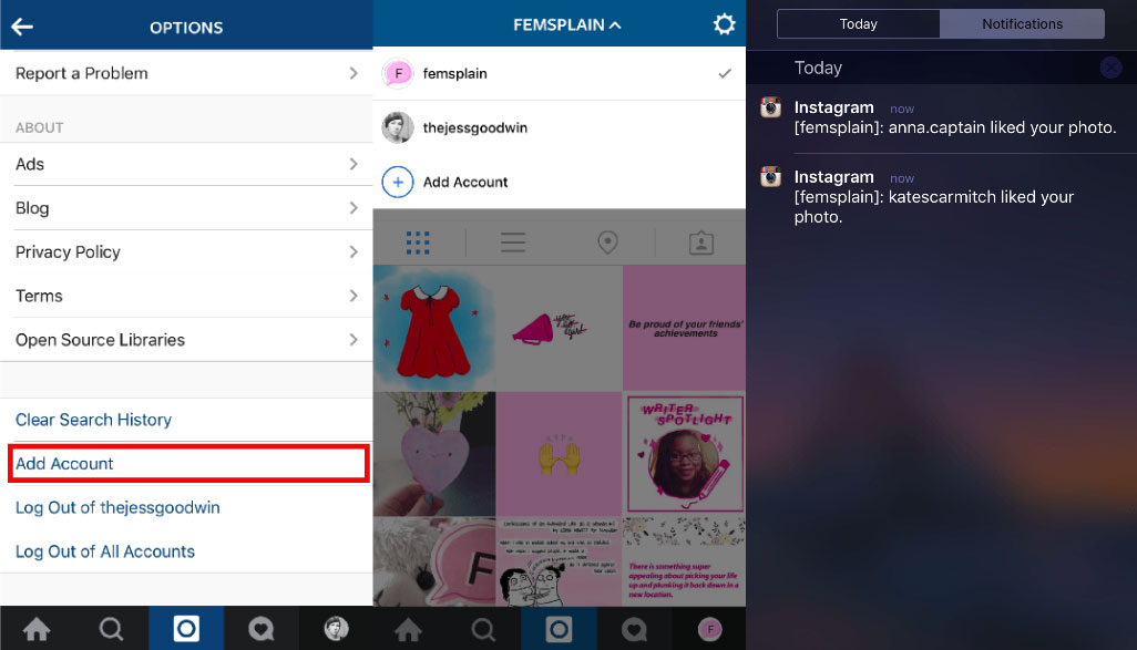 instagram-multi-compte