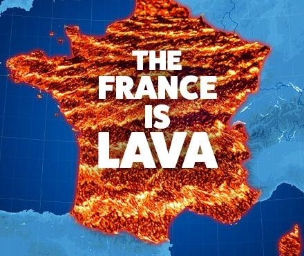 France is Lava